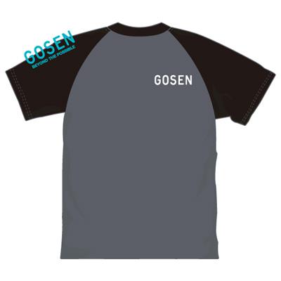 ゴーセン 2018春企画Tシャツ プラクティス ラグラングラフィック (J18P04)