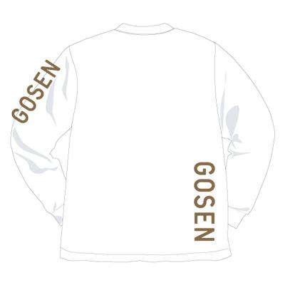 ゴーセン 2018春企画Tシャツ プラクティス ロングスリーブロゴ (J18P06)