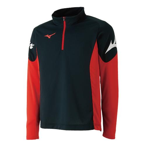ミズノ ソフトテニス日本代表応援グッズ ブレスサーモライトシャツ 62JA8X11